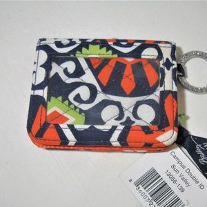 NWT Vera Bradly Campus double ID Sun Valley